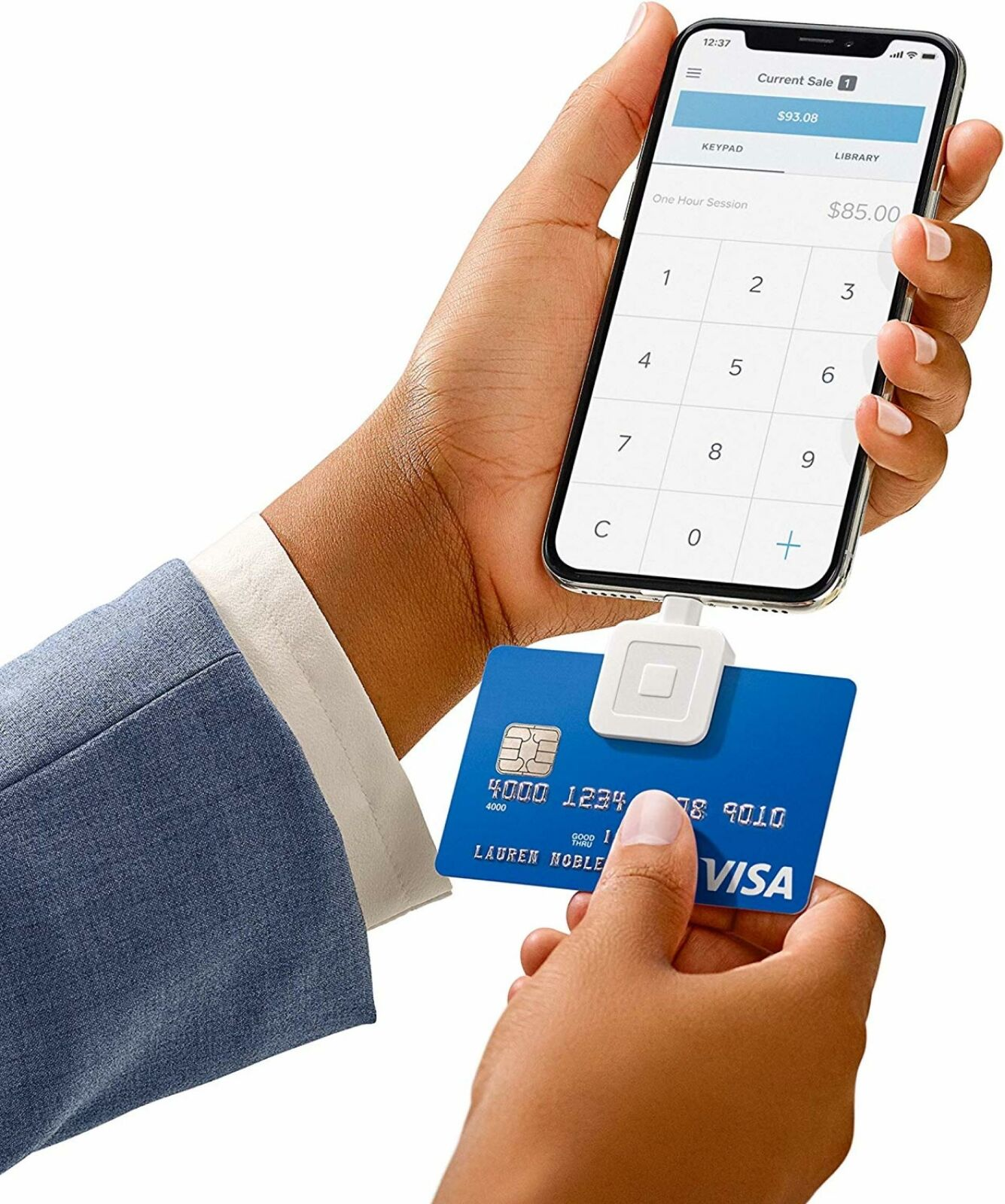 Square Mobile Debit Credit Card Reader Smart Phone IPhone