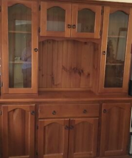 Rosewood Dining Setting For 10 Plus Matching Sideboard And Hutch