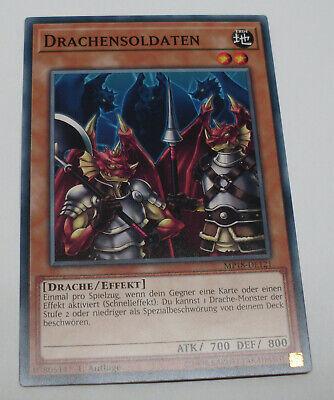 Yu-Gi-Oh Karte - Drachensoldaten - Drache / Effekt - braun - Yugioh Neu