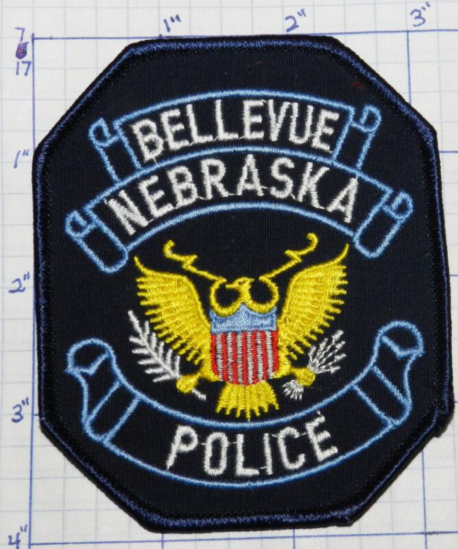 NEBRASKA, BELLEVUE POLICE DEPT DARK BLUE PATCH