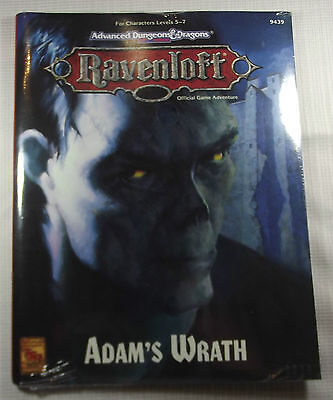 AD&D - RAVENLOFT - Adam's Wrath -OVP-  -Shrink-