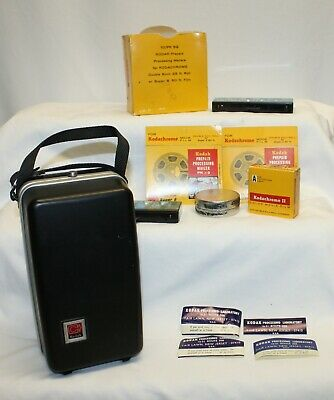 Vintage Kodak Hard Case and Photo Accessories