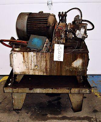 Sls1d32 Hydraulic Power Supply Unit 5hp  15227lr