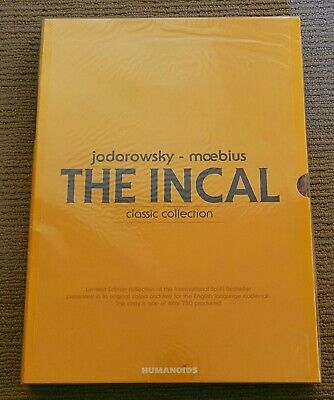 Incal Classic Collection Oversized Limited Hardcover Slipcase OOP Sealed Moebius