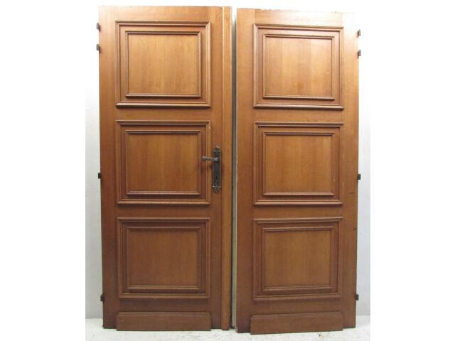Pair of Vintage Antique Pitch Pine Doors (2977)NJ