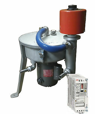 6000rpm Wvo Wmo Oil Centrifuge Heater 120v