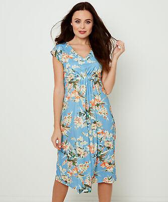 Joe Browns Womens Summery Floral Print Jersey Dress