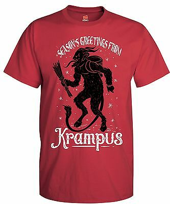 Krampus Holiday Ugly Sweater T-Shirt
