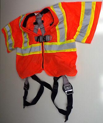 Buckingham Safety Vest Harness 68e98q2 Size L4x Class 3 Level 2 H Style