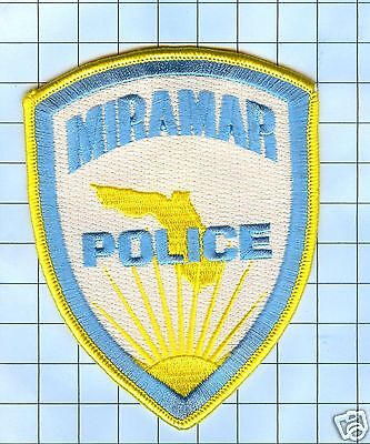 Police Patch  - Florida - Miramar