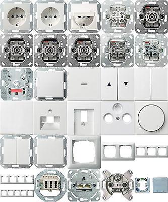 gira system 55 reinwei gl nzend steckdosen schalter. Black Bedroom Furniture Sets. Home Design Ideas