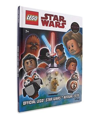 Official Lego Star Wars Annual 2019 (with minifigure) - Brand New