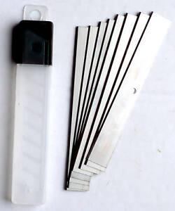 10pc Wallpaper & Paint Scraper Spare Blades Heavy Duty Blade 100mm New