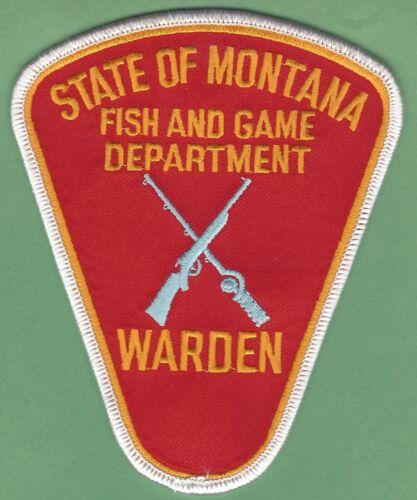MONTANA FISH & WILDLIFE ENFORCEMENT POLICE GAME WARDEN PATCH