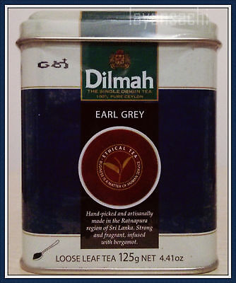 - Dilmah Earl Grey Loose leaf Tea 125g [4.41 Oz] Ceylon tea