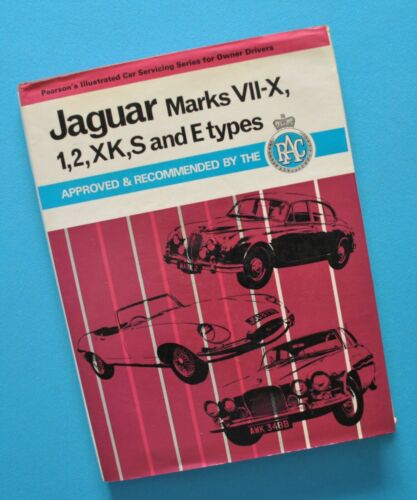 1949-60s Jaguar XK120 XK140 XK150 2.4 3.4 3.8 MKS Workshop Service Manual Book