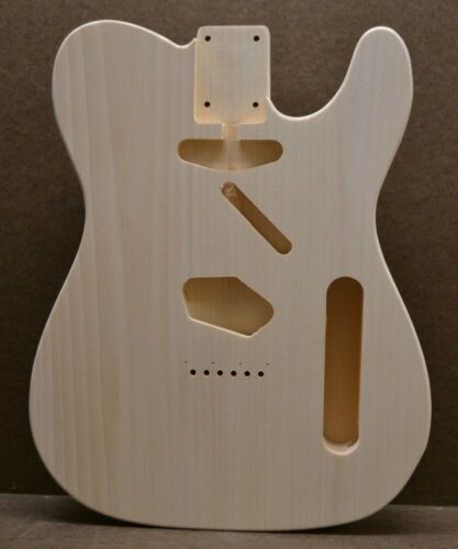 Guitar Body, Unfinished, Pine, USA Made, T-Style (Made to Order) Rosser Guitars