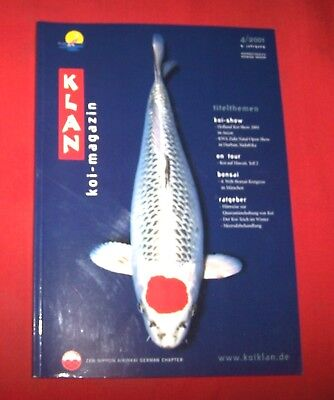 Klan Koi Magazin 2001 Nr  4 ,  9. Jahrgang , Internationales Nishikigoi Magazin