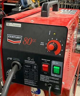 Century 80gl Flux Cored Wire Feed Welder Pick Up Only No Shipping