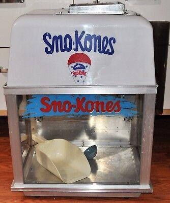 Bliz- Whiz Ice Shaver Snow Cone Machine