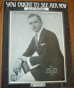1919-You-Ought-To-See-Her-Now-Rare-Vintage-Sheet-Music-Harry-Pease-Ed-Nelson