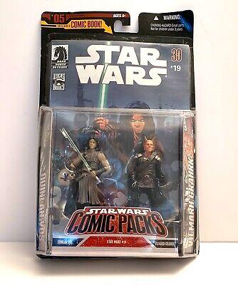 Star Wars Comic 2 Packs: #19: Quinlan Vos & Vilmarh Grahrk Action Figure Set New