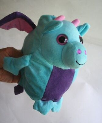 A Dragon and a Bird in One Stuffed Animal That Transformes From One to the Other