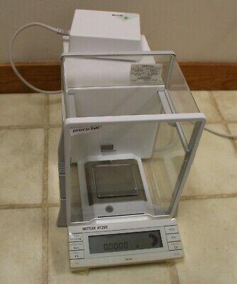 Mettler Digital Lab Scale At250 At 250 Balance Analytical Delta Range 0.01 Mg