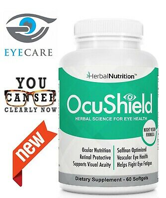 OcuShield Eye Vitamin Health Supplement For Healthy Eyes Better Vision -1