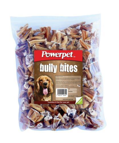 Powerpet Bully Bites - Natural Dog Chew - 1lb Pack - Odorless