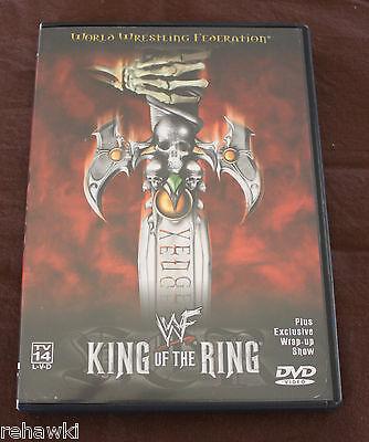 WWF - King of the Ring 2000 (DVD, 2000) WWE *RARE*