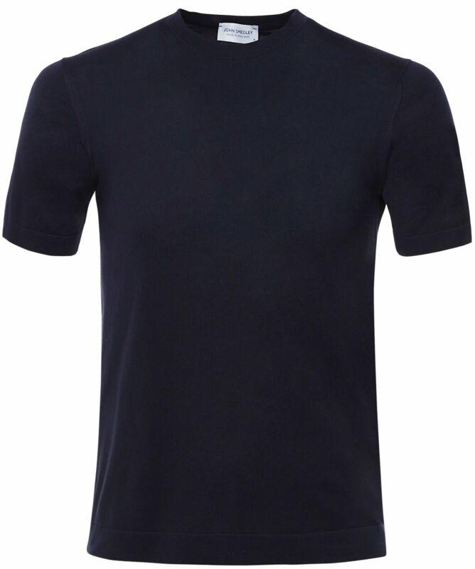 Grey John Smedley Men/'s Belden T-Shirt