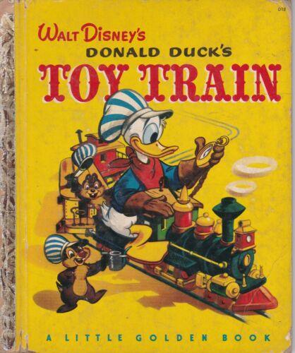 LITTLE GOLDEN BOOK WALT DISNEY DONALD DUCK