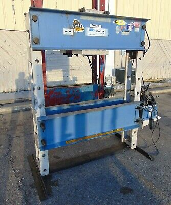 Otc 100 Ton Hydraulic Shop Press Model 1858
