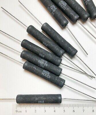 10 Pcs Vishay 15k Ohm 13 W Watt Wirewound Axial Power Resistor Cw01015k00je12