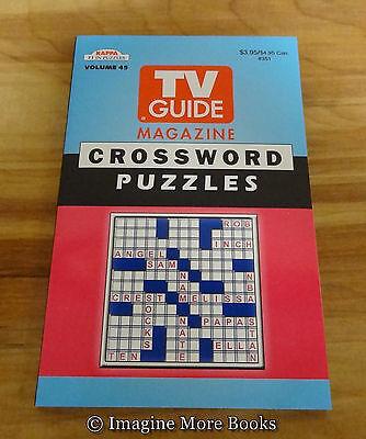 New Tv Guide Magazine Crossword Puzzles Vol 45   Kappa Crosswords