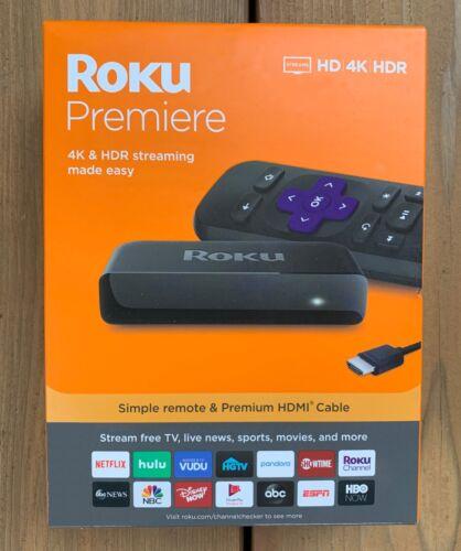Roku Premiere Streaming Media Player, Streams: HD / 4K / HDR