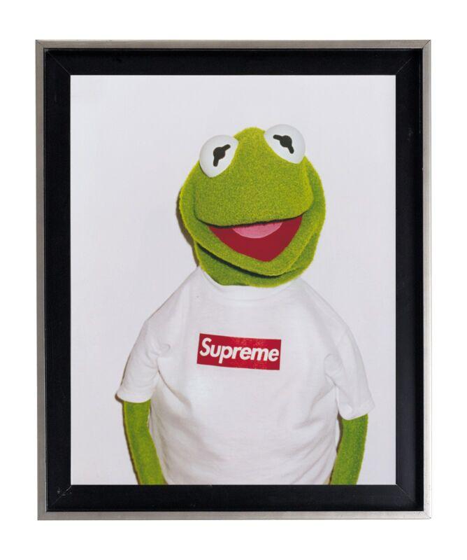 Supreme X Kermit the frog print poster matte urban street dope SK1