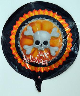 Folienballon Heliumballon Luftballon Party Halloween Totenkopf Schädel Grusel