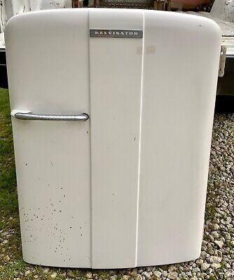 Foodarama Kelvinator 50's VTG refrigerator freezer door interior with handle