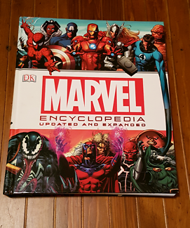 Marvel encyclopedia hard case