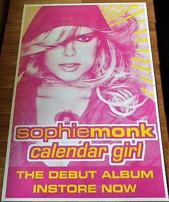 SOPHIE MONK Calendar Girl HUGE 2 sheet PROMO POSTER 152 x 102cm Bachelorette