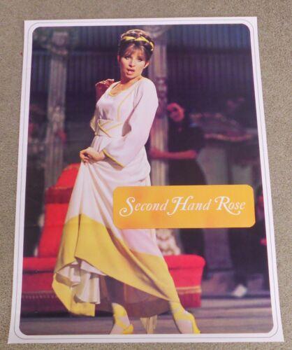 BARBRA STREISAND Poster SECOND HAND ROSE