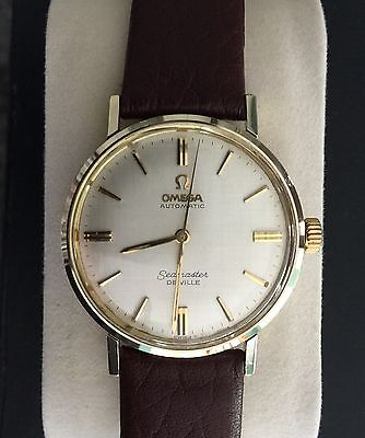 OMEGA  1964 Seamaster De Ville Cal.550 - Gold Bezel, Crown & Lugs/Stainless Case