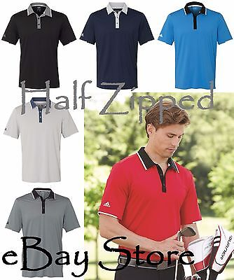 Adidas Mens Climacool Performance Polo Golf Sport Shirt A166 S-3XL Climacool Golf Shirts