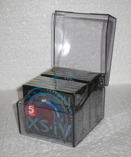 10 MINIDISC MD MINI DISC TDK XS-IV [eksesiv] MD-XS74EA NEW SEALED + TDK CASE