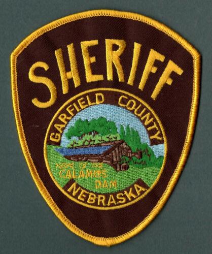 Garfield County Nebraska Sheriff Police Patch