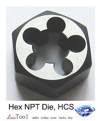 34-14 Npt Hex Pipe Die 1-1316 Hex Od High Carbon Steel Hcs Threading Tool
