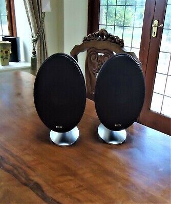 KEF E301 Speakers black (Pair) Excellent Condition & Full working order