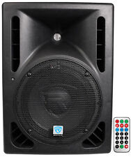 Rockville RPG10BT 10 Powered 600W DJ PA Speaker BlueTooth, USB, SD, Remote